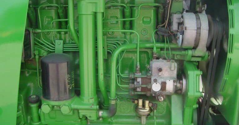 john deere 4620 engine noise