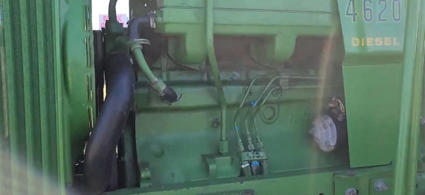 jd 4620 pto will not stay on