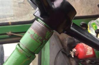 jd 4620 steering valve leak