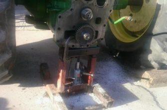 jd 4620 transmission pump loose