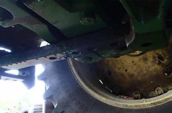john deere 4620 brakes leaking